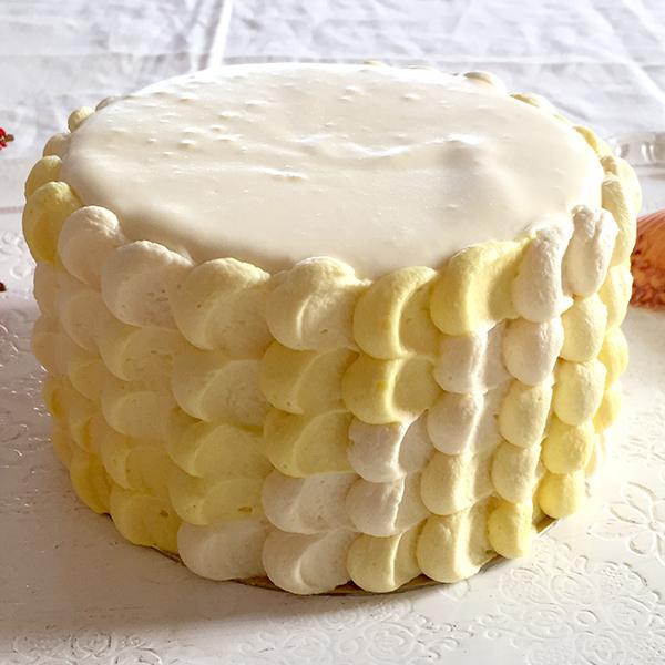 <出張>フレッシュマンゴーのショートケーキ